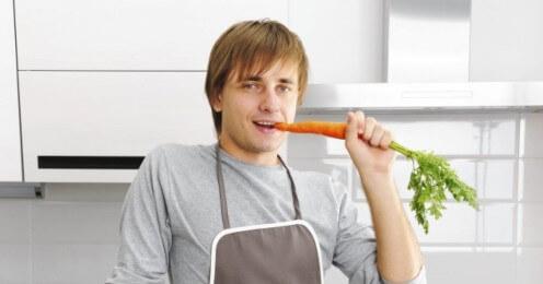 Морковь увеличивает мужскую фертильность