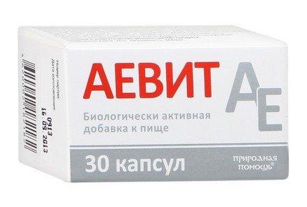 Аевит (Витамин А+Е)